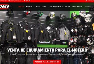 Motobikereus – Web corporativa y Tienda online ecommerce en Reus