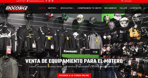 motobikereus.com creacion tienda online ecommerce reus realizada por mussara.com