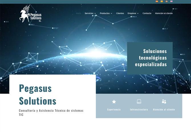 Diseño Web Reus Pegasus Solutions