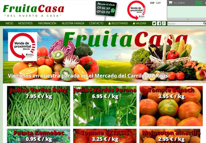 Tienda online Reus Tarragona -  Fruitacasa