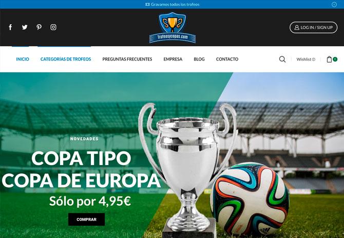 Tienda online Reus Tarragona -  - Trofeosycopas