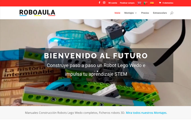 Tienda online Reus - Roboaula