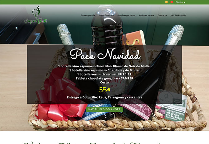tiendas online reus tarragona superfruitreus