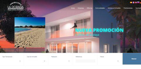 diseño web reus tarragona inmobiliarialadorada